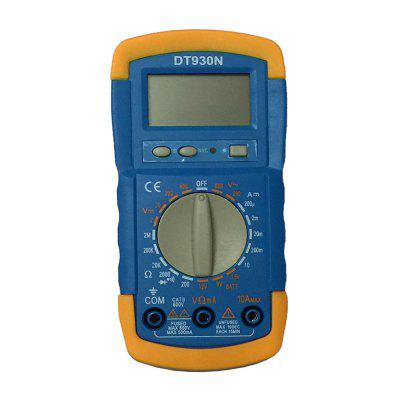 DT930N LCD Handheld Digital Multimeter Using for Home and Car