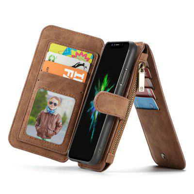 CaseMe for iPhone X Wallet Case with Detachable 2 in 1 Slim TPU PC Cover Luxury Handmade PU Leather 14 Card SlotsiPhone Cases/Covers<br>CaseMe for iPhone X Wallet Case with Detachable 2 in 1 Slim TPU PC Cover Luxury Handmade PU Leather 14 Card Slots<br><br>Brand: CaseMe<br>Color: Black,Red,Brown<br>Compatible for Apple: iPhone X<br>Features: Wallet Case, Shatter-Resistant Case, FullBody Cases, Anti-knock, Button Protector, With Credit Card Holder, Bumper Frame, Back Cover<br>Material: PC, TPU, PU Leather, Metal<br>Package Contents: 1 x Phone Case<br>Package size (L x W x H): 15.50 x 8.30 x 2.60 cm / 6.1 x 3.27 x 1.02 inches<br>Package weight: 0.1730 kg<br>Product size (L x W x H): 15.40 x 8.20 x 2.50 cm / 6.06 x 3.23 x 0.98 inches<br>Product weight: 0.1630 kg<br>Style: Name Brand Style, Leather, Vintage