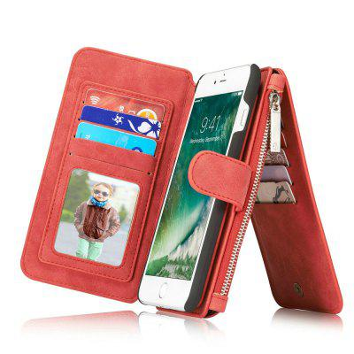 CaseMe for iPhone 7 Plus/ 8 Plus Split Leather 14 Multi-slot Retro Wallet Case with Magnetic Detachable TPU PC CoveriPhone Cases/Covers<br>CaseMe for iPhone 7 Plus/ 8 Plus Split Leather 14 Multi-slot Retro Wallet Case with Magnetic Detachable TPU PC Cover<br><br>Brand: CaseMe<br>Color: Black,Red,Brown<br>Compatible for Apple: iPhone 7 Plus, iPhone 8 Plus<br>Features: Wallet Case, Shatter-Resistant Case, FullBody Cases, Anti-knock, Button Protector, With Credit Card Holder, Bumper Frame, Back Cover<br>Material: PC, TPU, PU Leather<br>Package Contents: 1 x Phone Case<br>Package size (L x W x H): 16.10 x 9.10 x 3.10 cm / 6.34 x 3.58 x 1.22 inches<br>Package weight: 0.1790 kg<br>Product size (L x W x H): 16.00 x 9.00 x 3.00 cm / 6.3 x 3.54 x 1.18 inches<br>Product weight: 0.1690 kg<br>Style: Name Brand Style, Leather, Vintage