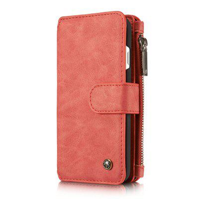 CaseMe for iPhone 7/8 Leather Case Flip Book Magnetic Closure Wallet Cover with Kickstand Feature 14 Card Slots Holder