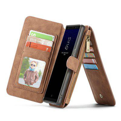 CaseMe for Samsung Galaxy Note 8 Wallet Case 2 in 1 Flip Folding Kickstand with 14 Card Slots Protective TPU PC CoverSamsung Note Series<br>CaseMe for Samsung Galaxy Note 8 Wallet Case 2 in 1 Flip Folding Kickstand with 14 Card Slots Protective TPU PC Cover<br><br>Brand: CaseMe<br>Characteristic: 2 in 1 Wallet Case<br>Color: Black,Red,Brown<br>Compatible for Samsung: Samsung Galaxy Note 8<br>Features: Anti-knock, Button Protector, Vertical Top Flip Case, With Credit Card Holder, Bumper Frame, Full Body Cases, Back Cover<br>Material: PC, TPU, PU Leather, Metal<br>Package Contents: 1 x Phone Case<br>Package size (L x W x H): 17.10 x 9.10 x 3.10 cm / 6.73 x 3.58 x 1.22 inches<br>Package weight: 0.2030 kg<br>Product size (L x W x H): 17.00 x 9.00 x 3.00 cm / 6.69 x 3.54 x 1.18 inches<br>Product weight: 0.1930 kg<br>Style: Vintage/Nostalgic Euramerican Style, Leather, Vintage