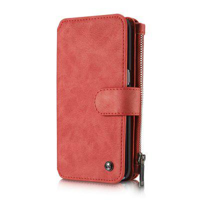 CaseMe for Samsung Galaxy S7 Edge PU Leather Wallet Case with 14 Credit Card Slot Magnetic Closure Flip Detachable Cover