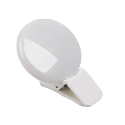 2018 Natural Mini Portable Selfie Led Flash Photo Camera Ring Light for Iphone Samsung Lithium-Ion Polymeter BatteryPhone Lenses<br>2018 Natural Mini Portable Selfie Led Flash Photo Camera Ring Light for Iphone Samsung Lithium-Ion Polymeter Battery<br><br>Package Contents: 1 x Fill light 1 x USB charging line<br>Package size (L x W x H): 6.00 x 4.00 x 2.50 cm / 2.36 x 1.57 x 0.98 inches<br>Package weight: 0.0400 kg