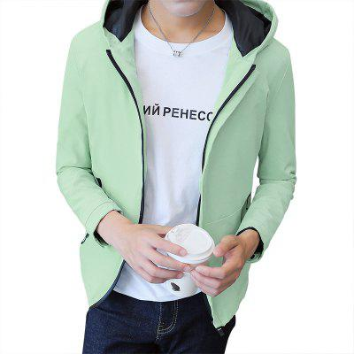 Men's  Spring and Autumn 2018 New Handsome Trend Self-cultivation Jacket