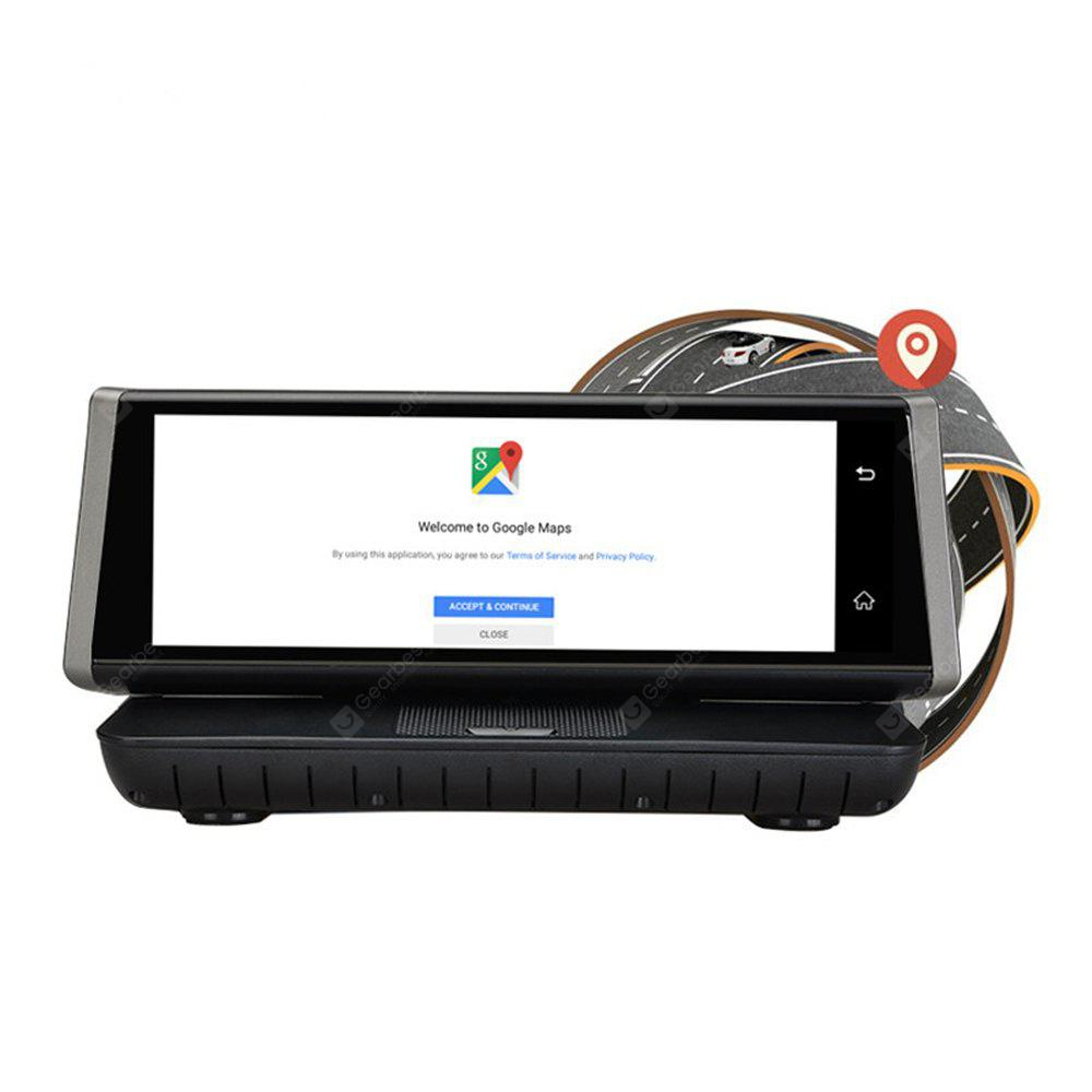 E02 8 Inch Touch 4G Android Wi-Fi GPS Full HD 1080P Video Recorder Dual Lens Car DVR Secretary Trace Cam ROM