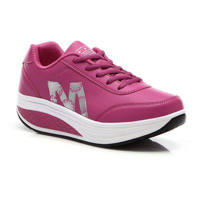 Swaying Thick Bottom Fitness Leisure Sports Shoes