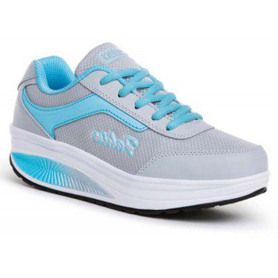 Thick - Soled Sports Leisure Light Increase Fitness Swing Shoes