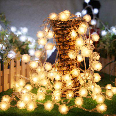 1PC USB Power 10M 60LEDS Led String Lights 8MODES Snow Ball Light Christmas New Year Wedding Party Bedroom DC5VLED Strips<br>1PC USB Power 10M 60LEDS Led String Lights 8MODES Snow Ball Light Christmas New Year Wedding Party Bedroom DC5V<br><br>Available Light Color: White,Blue,Colorful,Warm White<br>Body Color: White<br>Color Temperature or Wavelength: 5500 - 6500K(White) ;  2700 - 3500KK(Warm White) ; 700 - 635nm (Red); 650 - 490nm (Green); 490 - 440 nm( Blue)<br>Features: Easy to use, Energy Saving, Long Life Expectancy<br>Function: Studio and Exhibition Lighting, Commercial Lighting, Home Lighting, Outdoor Lighting, For Office and Teaching<br>Output Power: 6W<br>Package Contents: 1 x LED String Light<br>Package size (L x W x H): 15.50 x 9.70 x 7.60 cm / 6.1 x 3.82 x 2.99 inches<br>Package weight: 0.2020 kg<br>Product size (L x W x H): 15.00 x 9.00 x 7.00 cm / 5.91 x 3.54 x 2.76 inches<br>Product weight: 0.1540 kg<br>Sheathing Material: Plastic<br>Voltage (V): DC 5V