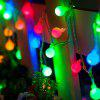 1PC USB Power 10M 60LEDS Led String Lights 8MODES White Ball Light Christmas New Year Wedding Party Bedroom DC5V - COLORFUL