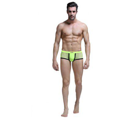 Men's Briefs Boxers with Ice Gauze