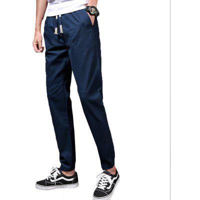 Mens Fashion and Trend PantsMens Pants<br>Mens Fashion and Trend Pants<br><br>Closure Type: Elastic Waist<br>Elasticity: Elastic<br>Fabric Type: Broadcloth<br>Fit Type: Regular<br>Length: Ninth<br>Material: Polyester<br>Package Contents: 1 X Pants<br>Package size (L x W x H): 1.00 x 1.00 x 1.00 cm / 0.39 x 0.39 x 0.39 inches<br>Package weight: 0.2000 kg<br>Pant Style: Pencil Pants<br>Pattern Type: Others<br>Style: Fashion<br>Waist Type: Mid