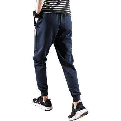 2018 Mens Fashion Sweat PantsMens Pants<br>2018 Mens Fashion Sweat Pants<br><br>Closure Type: Drawstring<br>Elasticity: Micro-elastic<br>Fabric Type: Cotton and kapok hemp<br>Fit Type: Regular<br>Length: Normal<br>Material: Cotton, Polyester<br>Package Contents: 1 X Pants<br>Package size (L x W x H): 1.00 x 1.00 x 1.00 cm / 0.39 x 0.39 x 0.39 inches<br>Package weight: 0.2000 kg<br>Pant Style: Harem Pants<br>Pattern Type: Others<br>Style: Active<br>Waist Type: Mid