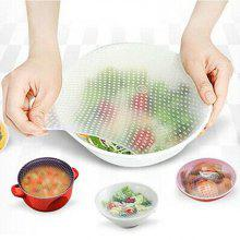Food Grade Silicone Wrap Reusable Sealing Cover 1 Universal Bowl Covers