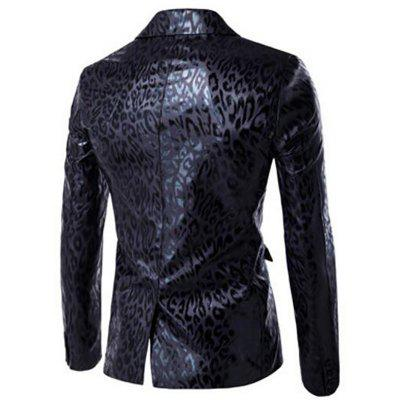 Mens Casual Blazer Leopard Print Turndown Collar Long Sleeve Slim Fit Casual SuitMens Blazers<br>Mens Casual Blazer Leopard Print Turndown Collar Long Sleeve Slim Fit Casual Suit<br><br>Closure Type: Single Button<br>Clothing Length: Regular<br>Embellishment: Pockets<br>Fit Type: Regular<br>Front Style: Flat<br>Hooded: No<br>Material: Cotton, Cotton Blends<br>Package Contents: 1 x Blazer<br>Package size (L x W x H): 1.00 x 1.00 x 1.00 cm / 0.39 x 0.39 x 0.39 inches<br>Package weight: 0.4100 kg<br>Pattern Type: Leopard<br>Sleeve Length: Full<br>Type: Suits