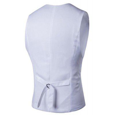 Mens Suit Vest V Neck Regular Fit WaistcoatMens Blazers<br>Mens Suit Vest V Neck Regular Fit Waistcoat<br><br>Closure Type: Single Breasted<br>Clothing Length: Regular<br>Embellishment: Button,Sashes<br>Fit Type: Regular<br>Hooded: No<br>Material: Cotton, Cotton Blends<br>Package Contents: 1 x Gilet<br>Package size (L x W x H): 1.00 x 1.00 x 1.00 cm / 0.39 x 0.39 x 0.39 inches<br>Package weight: 0.2200 kg<br>Pattern Type: Solid<br>Sleeve Length: Sleeveless<br>Type: Vests