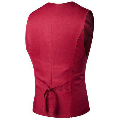 Mens Suit Vest V Neck Regular Fit WaistcoatMens Blazers<br>Mens Suit Vest V Neck Regular Fit Waistcoat<br><br>Closure Type: Single Breasted<br>Clothing Length: Regular<br>Embellishment: Button,Sashes<br>Fit Type: Regular<br>Hooded: No<br>Material: Cotton, Cotton Blends<br>Package Contents: 1 x Gilet<br>Package size (L x W x H): 1.00 x 1.00 x 1.00 cm / 0.39 x 0.39 x 0.39 inches<br>Package weight: 0.2300 kg<br>Pattern Type: Solid<br>Sleeve Length: Sleeveless<br>Type: Vests