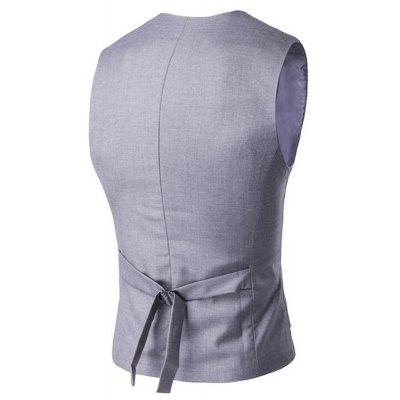 Mens Waistcoat V Neck Regular Fit Formal VestMens Blazers<br>Mens Waistcoat V Neck Regular Fit Formal Vest<br><br>Closure Type: Double Breasted<br>Clothing Length: Regular<br>Embellishment: Button,Sashes<br>Fit Type: Regular<br>Hooded: No<br>Material: Cotton Blends<br>Package Contents: 1 x Gilet<br>Package size (L x W x H): 1.00 x 1.00 x 1.00 cm / 0.39 x 0.39 x 0.39 inches<br>Package weight: 0.2000 kg<br>Pattern Type: Solid<br>Sleeve Length: Sleeveless<br>Type: Vests