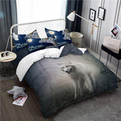 Moonlight Wolf Series Embroidery Three or FourPieces Beddings Set AS19Bedding Sets<br>Moonlight Wolf Series Embroidery Three or FourPieces Beddings Set AS19<br><br>Category: Bedding Set<br>For: All<br>Functions: Multi-functions<br>Material: Cotton, Polyester<br>Occasion: School, Bedroom<br>Package Contents: 1 x Duver Cover,2 x Pillowcases,1 x Bed Sheet or 1 x Duver Cover,2 x Pillowcases,<br>Package size (L x W x H): 28.00 x 26.00 x 5.00 cm / 11.02 x 10.24 x 1.97 inches<br>Package weight: 2.1500 kg