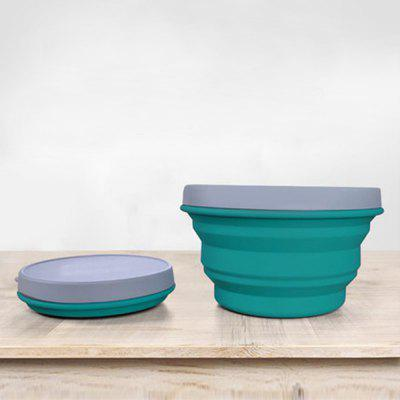 Silicone Collapsible Bowl Cup for Outdoor Camping Hiking Travel Folding BowlsDinnerware<br>Silicone Collapsible Bowl Cup for Outdoor Camping Hiking Travel Folding Bowls<br><br>Package Contents: 1 x Silicone Foldable Travel Bowl<br>Package size (L x W x H): 13.00 x 13.00 x 3.00 cm / 5.12 x 5.12 x 1.18 inches<br>Package weight: 0.2000 kg<br>Product weight: 0.1900 kg