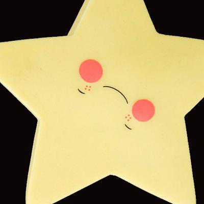 Children Luminous Toy Night Light Star ShapeNovelty lighting<br>Children Luminous Toy Night Light Star Shape<br><br>Material: PVC (Polyvinylchlorid)<br>Package Contents: 1 x Night Light<br>Package size (L x W x H): 12.00 x 12.00 x 3.50 cm / 4.72 x 4.72 x 1.38 inches<br>Package weight: 0.9700 kg<br>Product size (L x W x H): 11.80 x 11.80 x 3.00 cm / 4.65 x 4.65 x 1.18 inches<br>Suitable for: Home Decoration