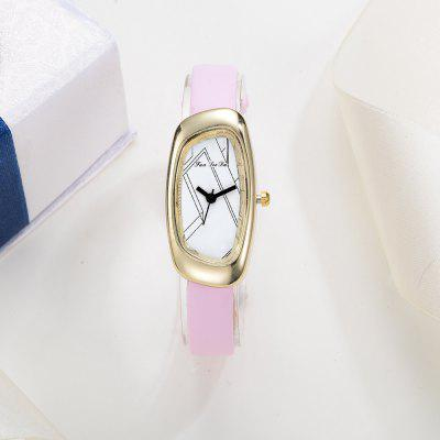 Fanteeda FD021 Women Unique Case Leather Band Quartz WatchWomens Watches<br>Fanteeda FD021 Women Unique Case Leather Band Quartz Watch<br><br>Band material: Leather<br>Band size: 21 x 1 CM<br>Case material: Alloy<br>Clasp type: Pin buckle<br>Dial size: 2 x 4 x 0.7 CM<br>Display type: Analog<br>Movement type: Quartz watch<br>Package Contents: 1 x Watch<br>Package size (L x W x H): 26.00 x 5.00 x 1.00 cm / 10.24 x 1.97 x 0.39 inches<br>Package weight: 0.0220 kg<br>Product size (L x W x H): 21.00 x 2.00 x 0.70 cm / 8.27 x 0.79 x 0.28 inches<br>Product weight: 0.0210 kg<br>Shape of the dial: Irregular<br>Watch mirror: Mineral glass<br>Watch style: Fashion, Business, Retro, Lovely, Wristband Style, Jewellery, Casual<br>Watches categories: Women,Female table<br>Water resistance: Life water resistant