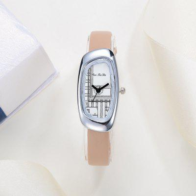 Fanteeda FD026 Women Unique Case Leather Band Quartz WatchWomens Watches<br>Fanteeda FD026 Women Unique Case Leather Band Quartz Watch<br><br>Band material: Leather<br>Band size: 21 x 1 CM<br>Case material: Alloy<br>Clasp type: Pin buckle<br>Dial size: 2 x 4 x 0.7 CM<br>Display type: Analog<br>Movement type: Quartz watch<br>Package Contents: 1 x Watch<br>Package size (L x W x H): 26.00 x 5.00 x 1.00 cm / 10.24 x 1.97 x 0.39 inches<br>Package weight: 0.0220 kg<br>Product size (L x W x H): 21.00 x 2.00 x 0.70 cm / 8.27 x 0.79 x 0.28 inches<br>Product weight: 0.0210 kg<br>Shape of the dial: Irregular<br>Watch mirror: Mineral glass<br>Watch style: Fashion, Business, Retro, Lovely, Wristband Style, Jewellery, Casual<br>Watches categories: Women,Female table<br>Water resistance: No