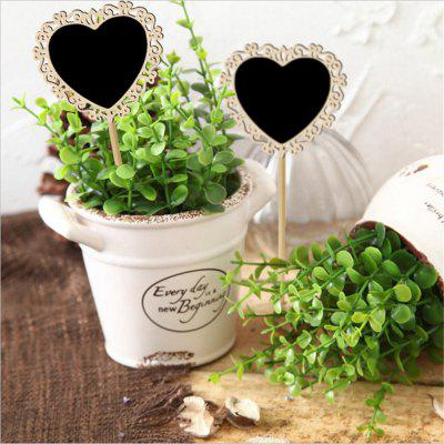 170814 Hollow Heart-Shaped Chalkboard Wooden Crafts Wedding Parties Decorative Ornaments 10PCSCrafts<br>170814 Hollow Heart-Shaped Chalkboard Wooden Crafts Wedding Parties Decorative Ornaments 10PCS<br><br>For: Parents, Brothers, Sisters<br>Material: Wood<br>Package Contents: 10 x board<br>Package size (L x W x H): 23.00 x 15.00 x 5.00 cm / 9.06 x 5.91 x 1.97 inches<br>Package weight: 0.2000 kg<br>Usage: Party, Wedding, Birthday, Christmas, New Year