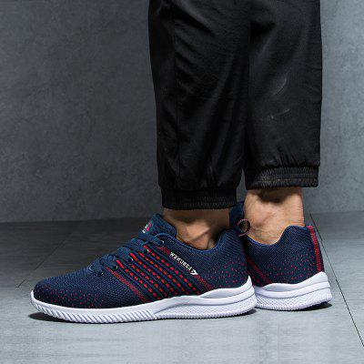 New Spring and Autumn Striped Breathable Lightweight All-Match Fashion Casual ShoesMen's Sneakers<br>New Spring and Autumn Striped Breathable Lightweight All-Match Fashion Casual Shoes<br><br>Available Size: 39-44<br>Closure Type: Lace-Up<br>Embellishment: None<br>Gender: For Men<br>Outsole Material: Rubber<br>Package Contents: 1xshoes(pair)<br>Pattern Type: Striped<br>Season: Spring/Fall<br>Toe Shape: Pointed Toe<br>Toe Style: Closed Toe<br>Upper Material: Cloth<br>Weight: 1.5840kg