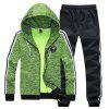Men's Hats Fashion and Leisure Sports Suit - GREEN