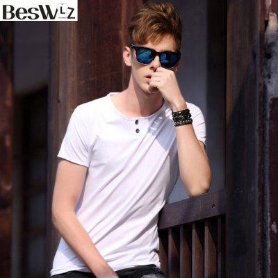 Summer Men Tops Short Sleeve O Neck Casual T Shirts Cotton Slim TeesMens Short Sleeve Tees<br>Summer Men Tops Short Sleeve O Neck Casual T Shirts Cotton Slim Tees<br><br>Collar: Round Neck<br>Fabric Type: Jersey<br>Material: Cotton, Spandex<br>Package Contents: 1 x T shirt<br>Pattern Type: Solid<br>Sleeve Length: Short Sleeves<br>Style: Casual<br>Weight: 0.2000kg
