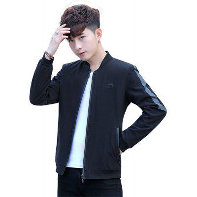 Jacket Handsome Self-cultivation  Personality Jacket