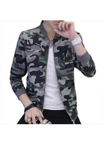 2018 New Men's Casual Camouflage Jacket