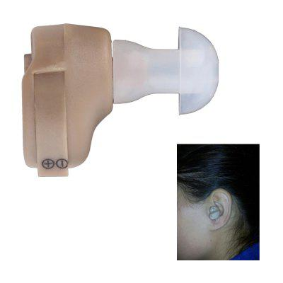 Mini Portable Adjustable Tone Hearing Aid Small Invisible In-Ear Type Best Sound Amplifier