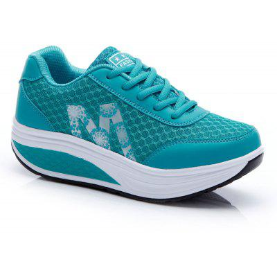 Sports Running Leisure Travel Thick Bottom Swing Shoes