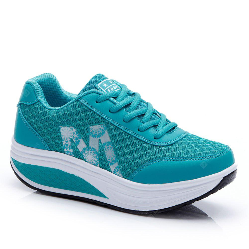 Esportes Running Leisure Travel Thick Bottom Swing Shoes