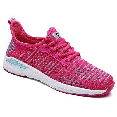Sports Mesh Breathable Knitted Lightweight Casual Running Shoes