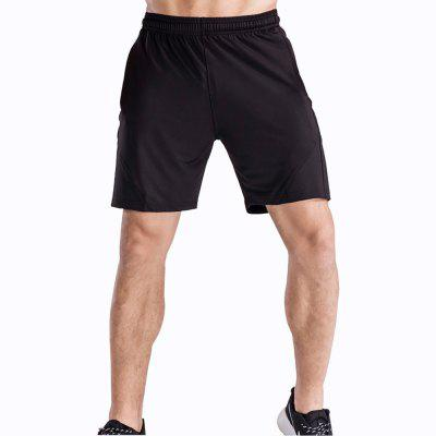 Men's Loose Fit Sweat-Absorbent Breathable Sports Shorts