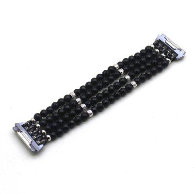 Fashion Handmade Elastic Faux Pearl Beaded Watch Band for Fitbit Ionic Watch Strap Bracelets Jewelry WristbandSmart Watch Accessories<br>Fashion Handmade Elastic Faux Pearl Beaded Watch Band for Fitbit Ionic Watch Strap Bracelets Jewelry Wristband<br><br>Function: For Fitbit Ionic<br>Package Contents: 1 x Jewelry Watch Band<br>Package size: 17.00 x 6.00 x 2.00 cm / 6.69 x 2.36 x 0.79 inches<br>Package weight: 0.0400 kg