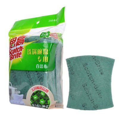 3M Cleaning Cloth for Iron Pot Bowl 5Pcs