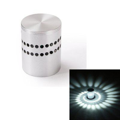 Creative Wall Lamp 3W Aluminum LED Porous Hotel Background KTV Club Environmental Atmosphere Light