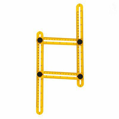 Figure Measurement Tool Plastic Box Four Square Shaped Folding RuleCutting Tools<br>Figure Measurement Tool Plastic Box Four Square Shaped Folding Rule<br><br>Material: ABS<br>Package Contents: 1 x Ruler<br>Package size: 32.00 x 20.00 x 5.00 cm / 12.6 x 7.87 x 1.97 inches<br>Package weight: 0.0750 kg<br>Primary functions: ??<br>Scope of application: Product, Market, Supermarket, Industrial, Home appliance, Office, Education<br>Type: Measuring tools