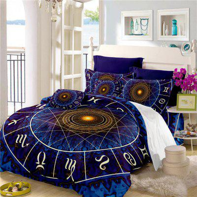 Star Palace Compass Series Three or Four Pieces Bedding Set AS21