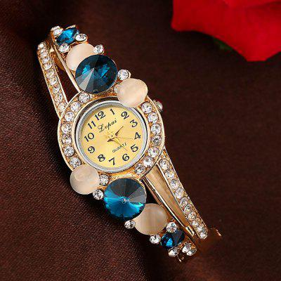 Lvpai P043 Women Unique Bangle Quartz WatchesWomens Watches<br>Lvpai P043 Women Unique Bangle Quartz Watches<br><br>Band material: Alloys<br>Band size: 18 x 0.7 cm<br>Case material: Alloy<br>Dial size: 1.7 x 1.7 x 0.7 cm<br>Display type: Analog<br>Movement type: Quartz watch<br>Package Contents: 1 x Watch<br>Package size (L x W x H): 9.00 x 8.50 x 3.00 cm / 3.54 x 3.35 x 1.18 inches<br>Package weight: 0.0350 kg<br>Product size (L x W x H): 18.00 x 1.70 x 0.70 cm / 7.09 x 0.67 x 0.28 inches<br>Product weight: 0.0340 kg<br>Shape of the dial: Round<br>Watch mirror: Mineral glass<br>Watch style: Jewellery, Fashion, Retro, Casual, Cool, Lovely, Childlike, Wristband Style<br>Watches categories: Women,Female table<br>Water resistance: No