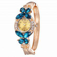 Lvpai P044 Women Unique Crystals Bangle Watch coupons