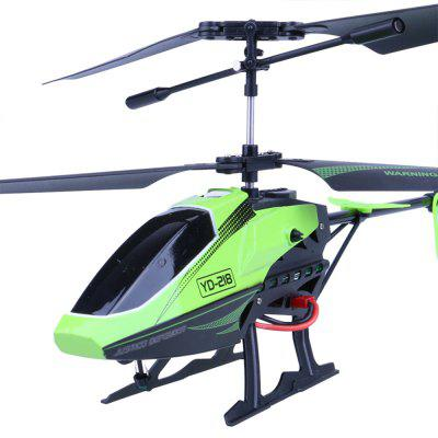 Attop YD-218 Remote Controlled HelicopterRC Helicopters<br>Attop YD-218 Remote Controlled Helicopter<br><br>Built-in Gyro: Yes<br>Channel: 3.5-Channels<br>Detailed Control Distance: 10~15m<br>Flying Time: 8~10mins<br>Functions: With light, Hover, Turn left/right, Forward/backward, Up/down<br>Helicopter Power: Built-in rechargeable battery<br>Mode: Mode 2 (Left Hand Throttle)<br>Package Contents: 1 x Aircraft ( Battery Included ) ; 1 x  Remote Control;  1 x USB data  cable;  1 x Connector;  1 x   Tail leaves;   1 x screwdriver;  1 x  English  Instruction book.<br>Package size (L x W x H): 55.00 x 9.00 x 24.00 cm / 21.65 x 3.54 x 9.45 inches<br>Package weight: 0.6560 kg<br>Product size (L x W x H): 29.00 x 12.00 x 23.00 cm / 11.42 x 4.72 x 9.06 inches<br>Product weight: 0.0692 kg<br>Remote Control: Radio Control<br>Transmitter Power: 3 x 1.5V AAA battery (not included)<br>Type: RC Helicopters