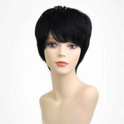 Natural Wavy Short Human Hair Wigs