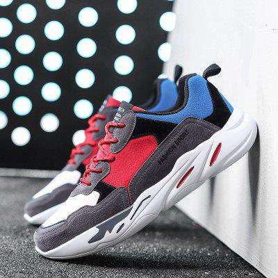 New Stitching Color Casual Sport ShoesMen's Sneakers<br>New Stitching Color Casual Sport Shoes<br><br>Available Size: 39-44<br>Closure Type: Lace-Up<br>Feature: Breathable<br>Gender: For Men<br>Outsole Material: Rubber<br>Package Contents: 1xshoes(pair)<br>Package Size(L x W x H): 33.00 x 22.00 x 12.00 cm / 12.99 x 8.66 x 4.72 inches<br>Package weight: 0.7000 kg<br>Pattern Type: Patchwork<br>Season: Spring/Fall<br>Upper Material: PU