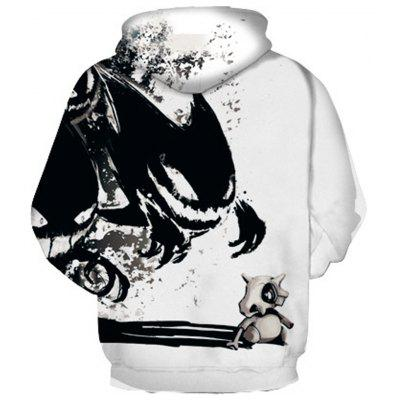 Devil Pattern Digital Printing HoodieMens Hoodies &amp; Sweatshirts<br>Devil Pattern Digital Printing Hoodie<br><br>Fabric Type: Broadcloth<br>Material: Cotton<br>Package Contents: 1 x Hoodie<br>Shirt Length: Regular<br>Sleeve Length: Full<br>Style: Fashion<br>Weight: 0.4300kg