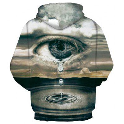 Tears Digital Printing HoodiesMens Hoodies &amp; Sweatshirts<br>Tears Digital Printing Hoodies<br><br>Fabric Type: Broadcloth<br>Material: Cotton<br>Package Contents: 1 x Hoodie<br>Shirt Length: Regular<br>Sleeve Length: Full<br>Style: Fashion<br>Weight: 0.4300kg