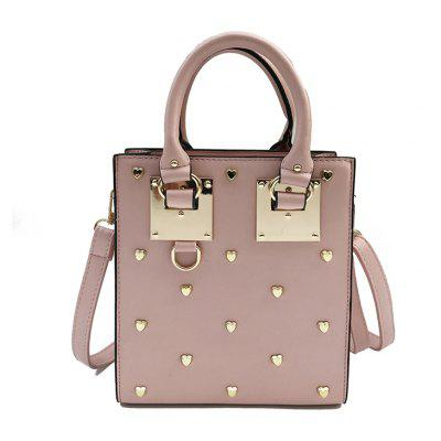 Personality Rivets Small Square Fashion Hand-Tempered Ladies Wild Trend Shoulder Messenger Bag
